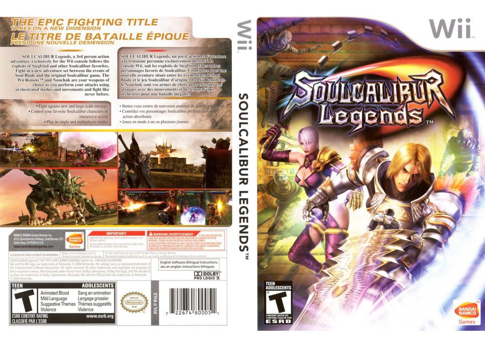 Игра для игровой консоли Nintendo Wii (PAL), Soulcalibur Legends