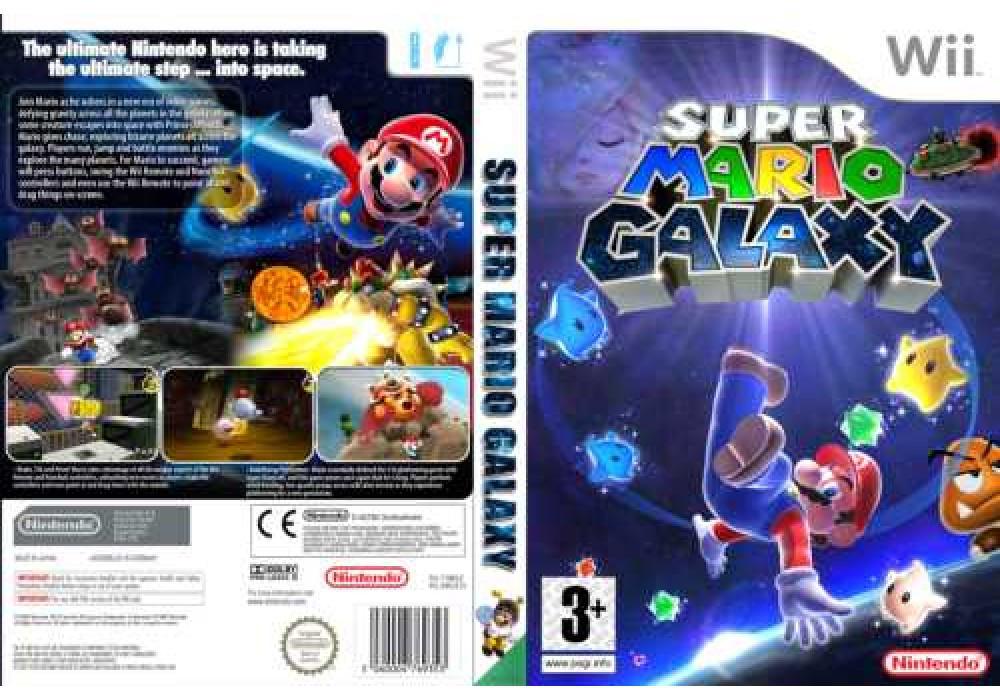 Игра для игровой консоли Nintendo Wii (PAL), Super Mario Galaxy (для любых чипов!!!)