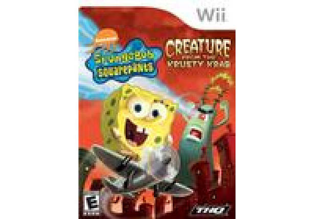 Игра для игровой консоли Nintendo Wii (PAL), SpongeBob SquarePants: Creature from the Krusty Krab, фото 2
