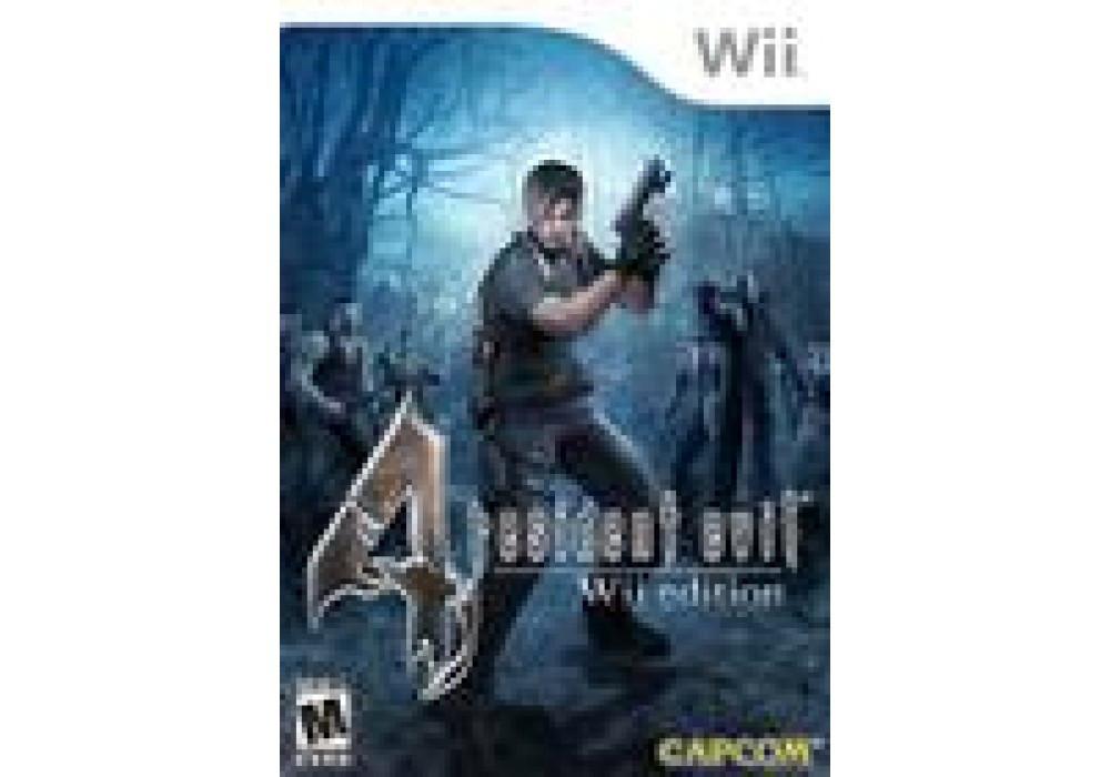 Игра для игровой консоли Nintendo Wii (PAL), Resident Evil 4 Wii Edition