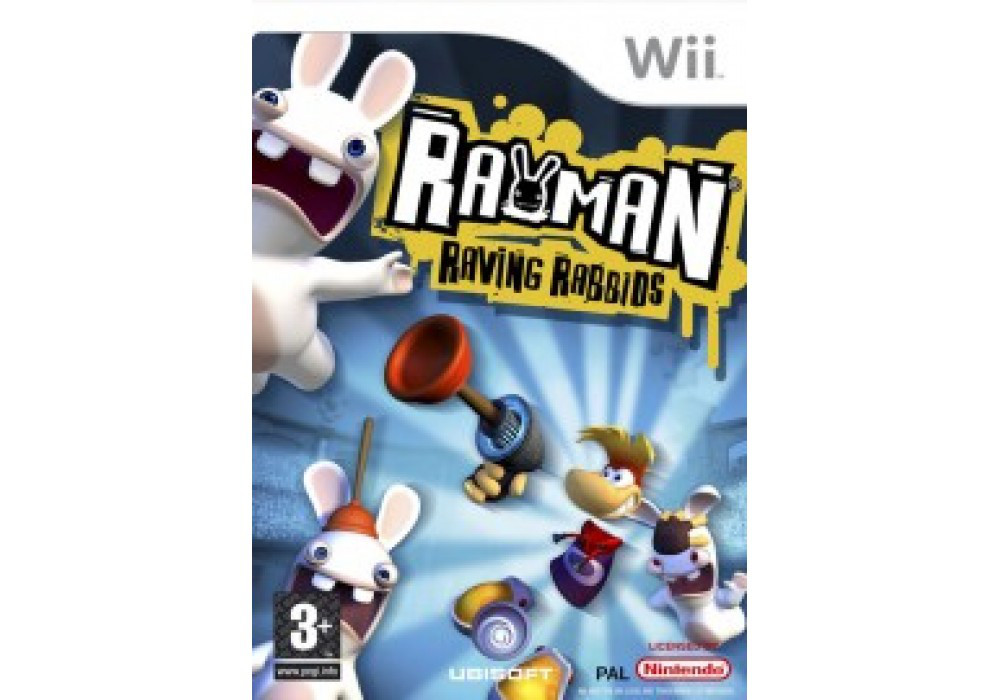Гра для ігрової консолі Nintendo Wii (PAL), Rayman Raving Rabbids