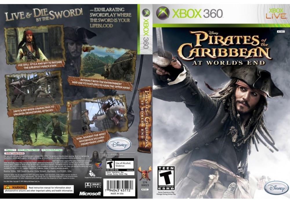 Игра для игровой консоли Nintendo Wii (PAL), Pirates of the Caribbean: At World's End
