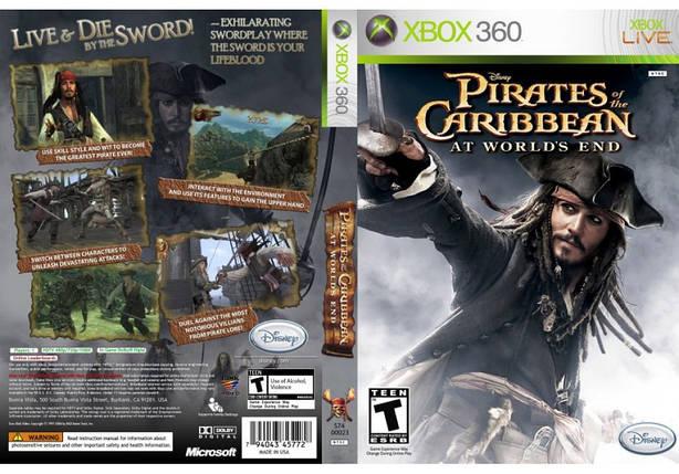 Игра для игровой консоли Nintendo Wii (PAL), Pirates of the Caribbean: At World's End, фото 2