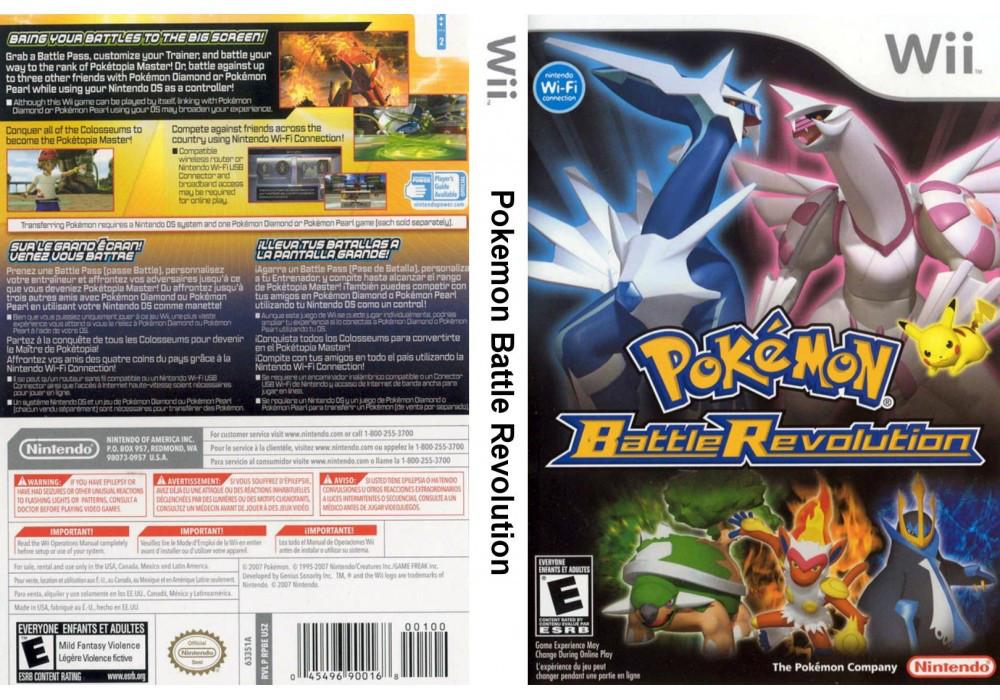 Игра для игровой консоли Nintendo Wii (PAL), Pokemon Battle Revolution