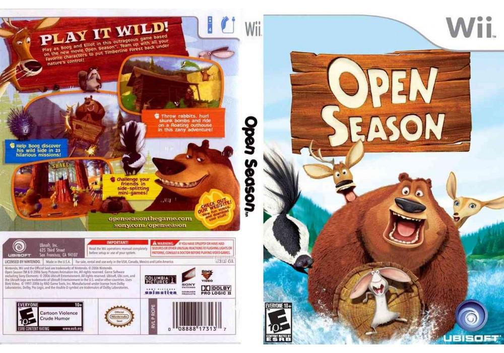 Игра для игровой консоли Nintendo Wii (PAL), Open Season