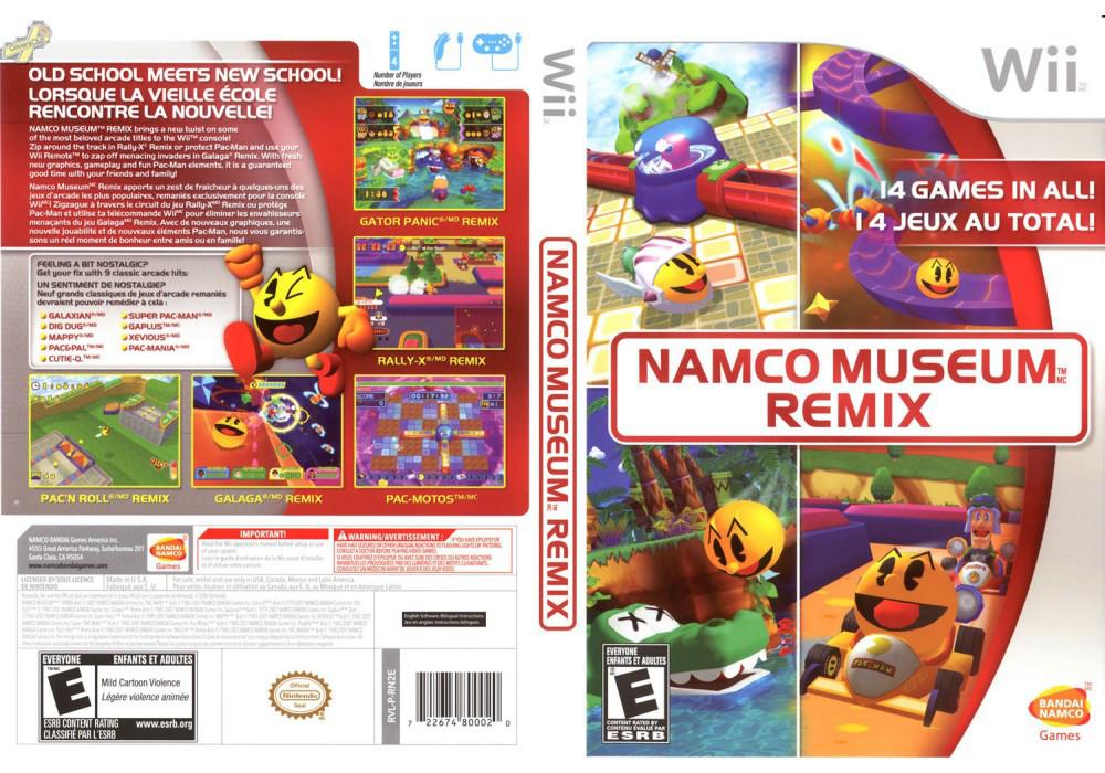 Игра для игровой консоли Nintendo Wii (PAL), Namco Museum Remix