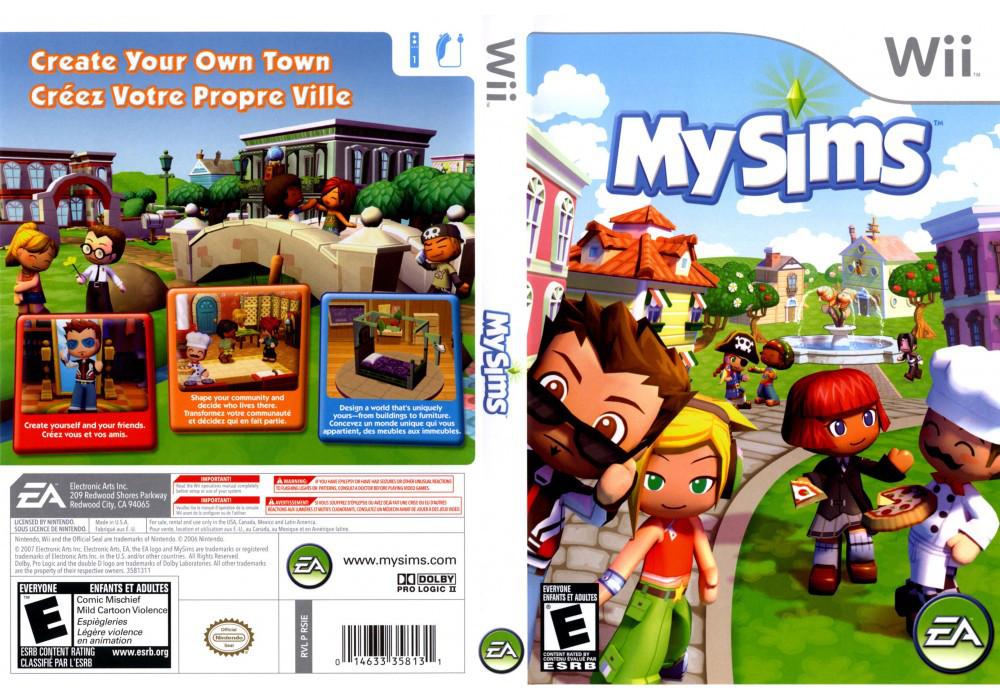Игра для игровой консоли Nintendo Wii (PAL), My Sims