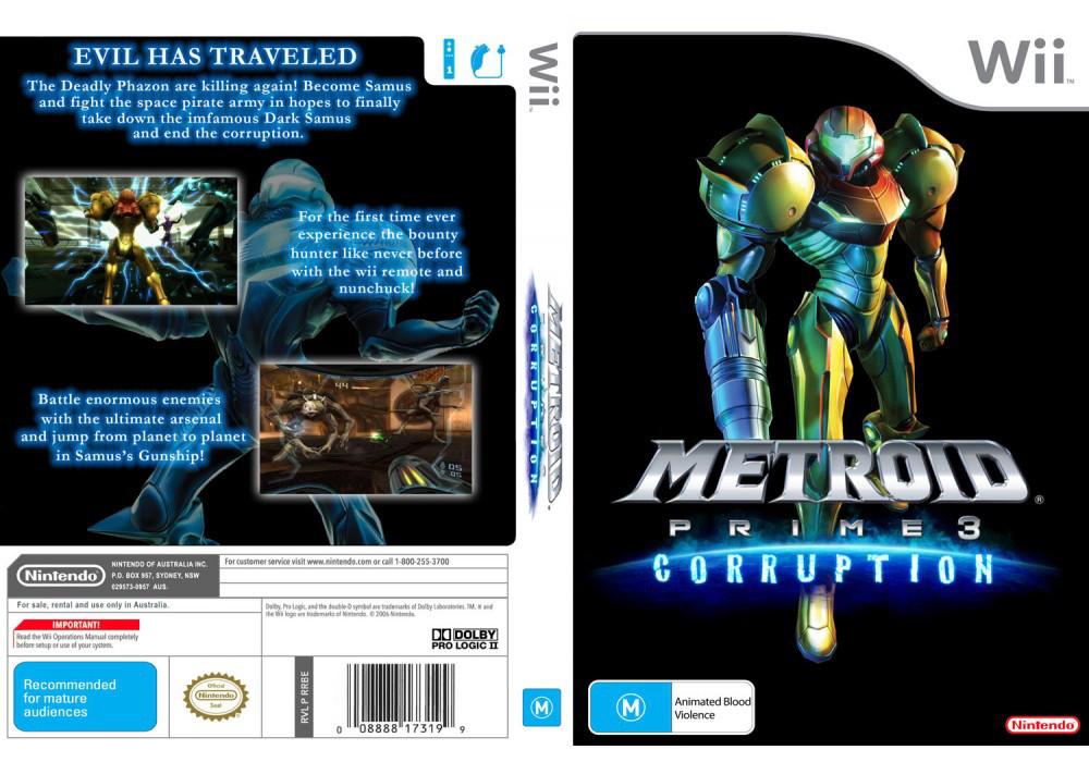 Игра для игровой консоли Nintendo Wii (PAL), Metroid Prime 3: Corruption PAL