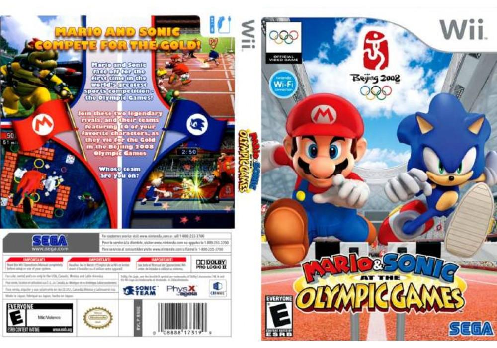 Игра для игровой консоли Nintendo Wii (PAL), Mario and Sonic Olympic Games