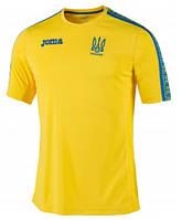 Футболка (хлопок) сборной Украины желтая Joma FFU201021.17