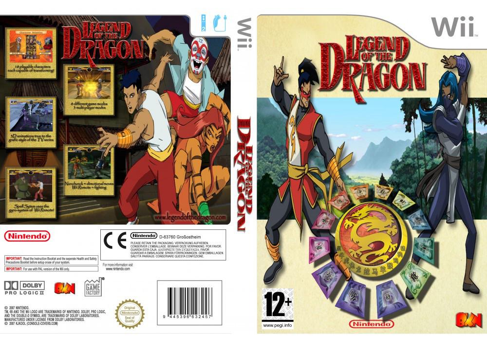 Игра для игровой консоли Nintendo Wii (PAL), Legend of The Dragon