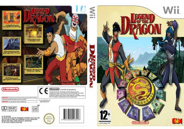 Игра для игровой консоли Nintendo Wii (PAL), Legend of The Dragon, фото 2