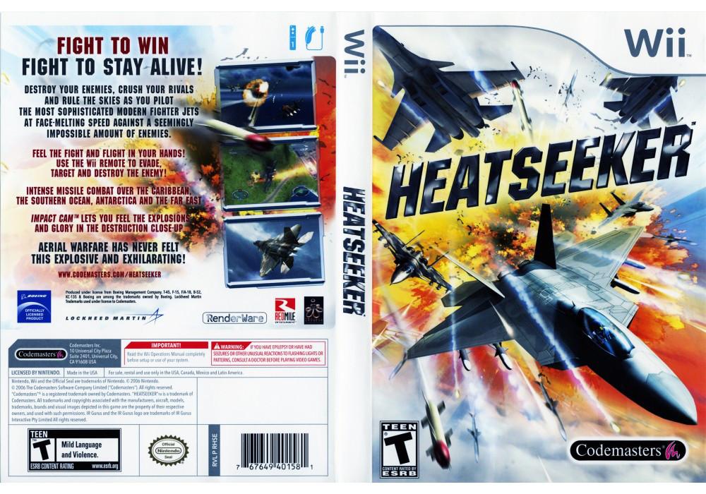 Игра для игровой консоли Nintendo Wii (PAL), Heatseeker