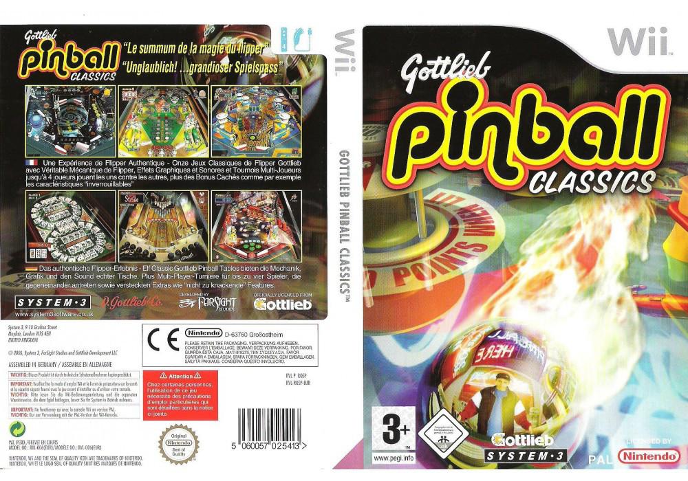 Игра для игровой консоли Nintendo Wii (PAL), Gottlieb Pinball