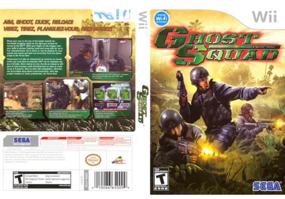 Игра для игровой консоли Nintendo Wii (PAL), Ghost Squad