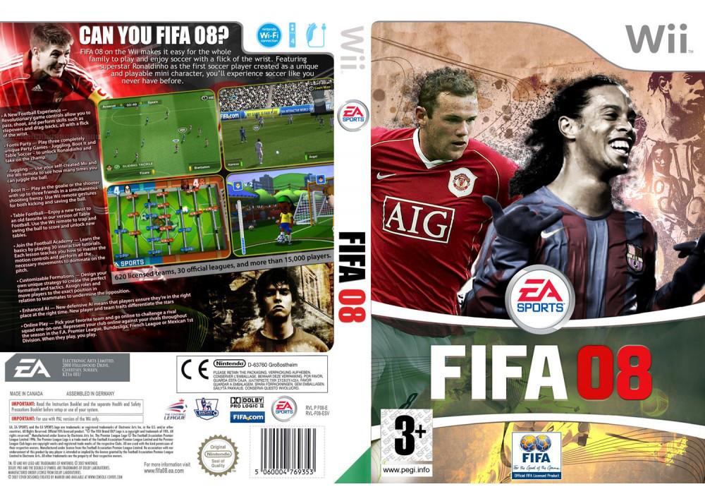 Игра для игровой консоли Nintendo Wii (PAL), FIFA 08