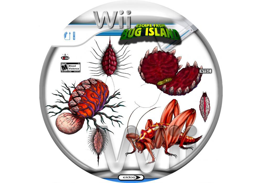 Игра для игровой консоли Nintendo Wii (PAL), Escape from Bug Island