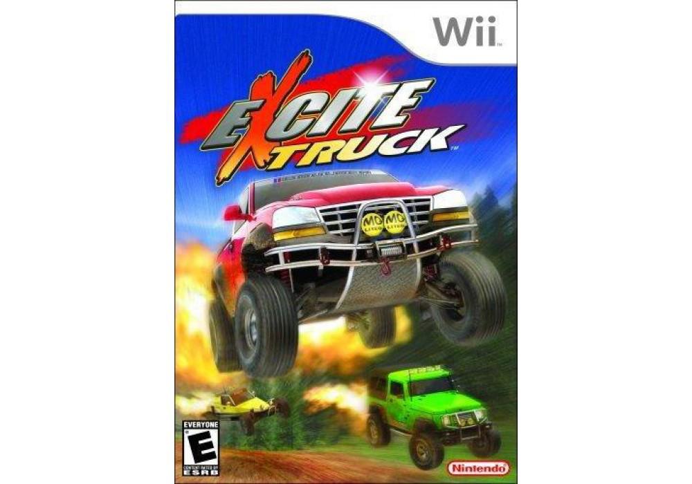 Игра для игровой консоли Nintendo Wii (PAL), Excite Truck