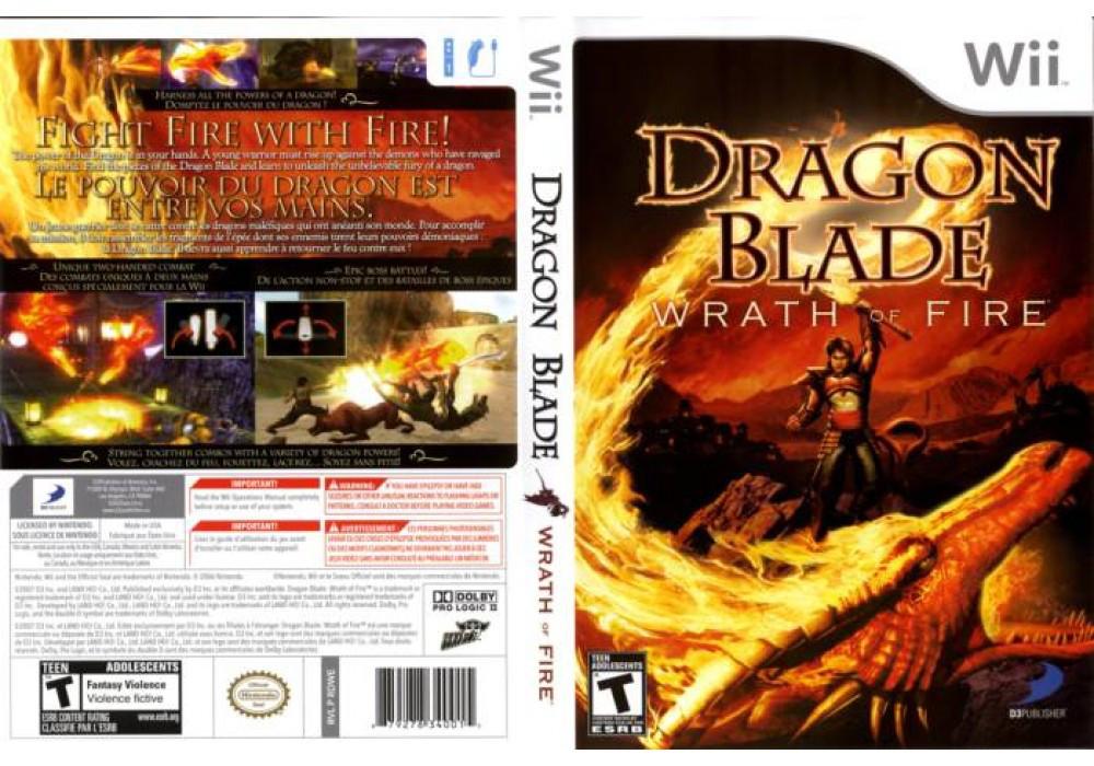 Игра для игровой консоли Nintendo Wii (PAL), Dragon Blade Wrath Of Fire