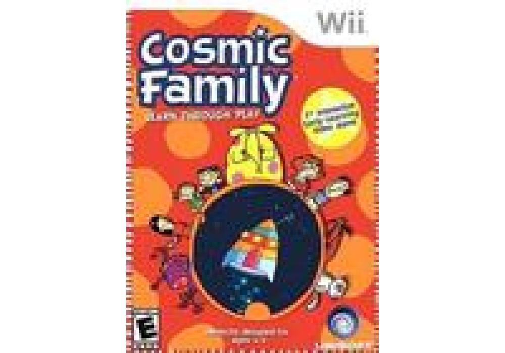 Игра для игровой консоли Nintendo Wii (PAL), Cosmic Family