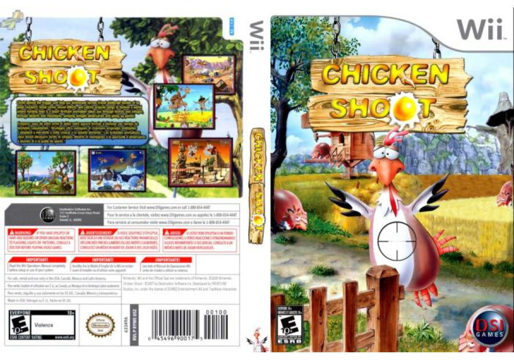 Гра для ігрової консолі Nintendo Wii (PAL), Chicken Shoot