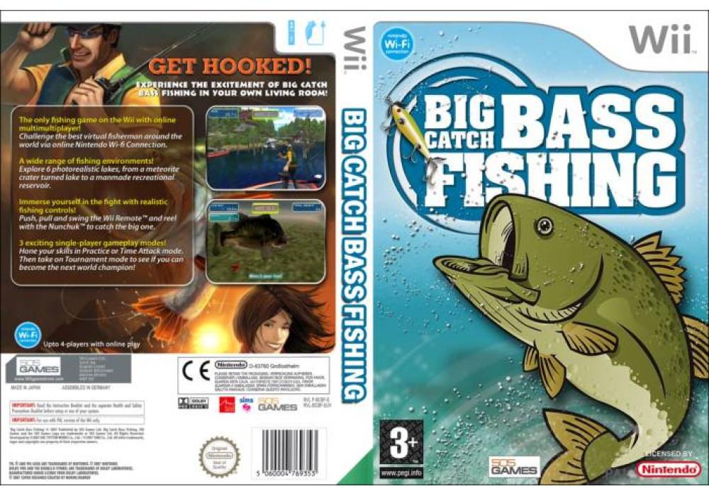 Игра для игровой консоли Nintendo Wii (PAL), Big Catch Bass Fishing