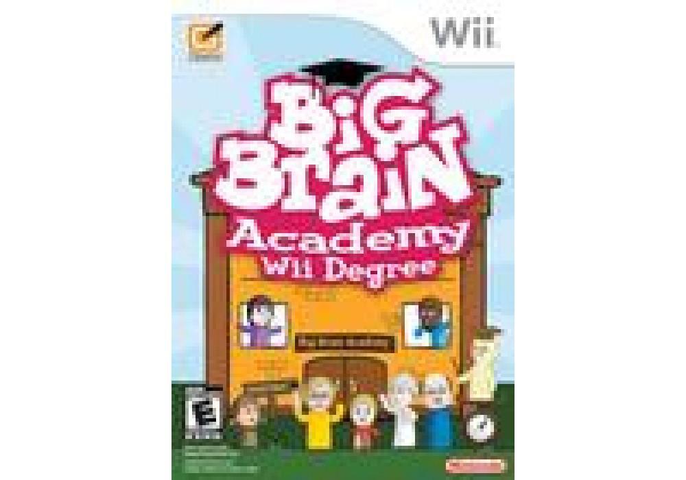 Игра для игровой консоли Nintendo Wii (PAL), Big Brain Academy: Wii Degree