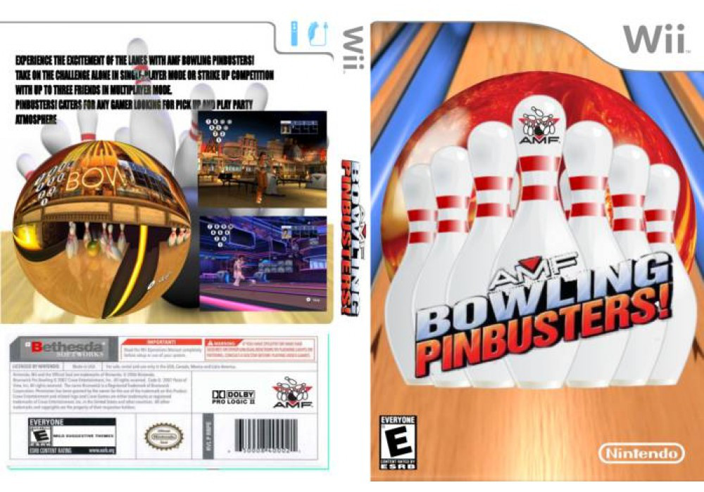 Игра для игровой консоли Nintendo Wii (PAL), AMF Bowling Pinbuster