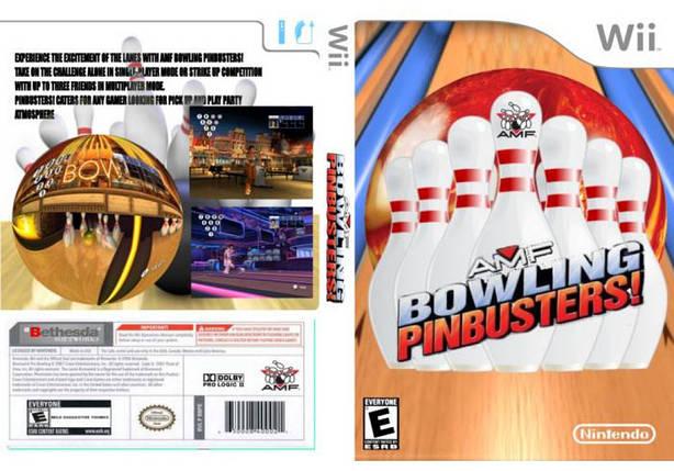 Игра для игровой консоли Nintendo Wii (PAL), AMF Bowling Pinbuster, фото 2