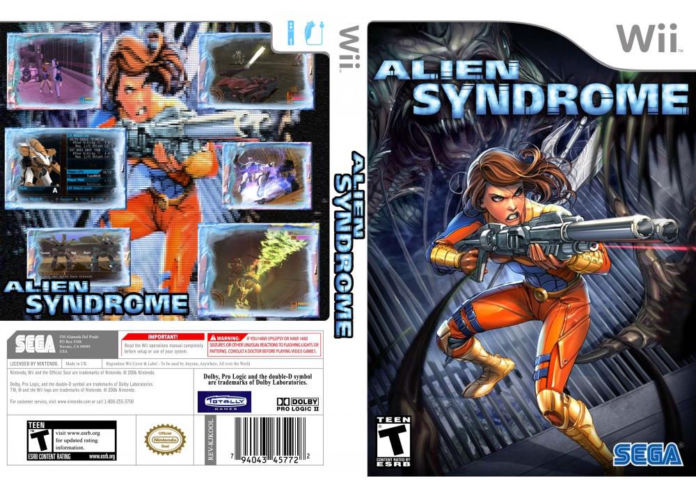 Игра для игровой консоли Nintendo Wii (PAL), Alien Syndrome