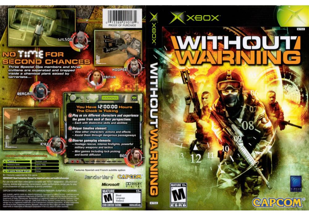 Игра для игровой консоли Xbox, Without Warning