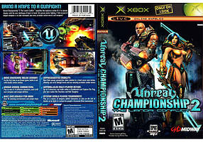 Игра для игровой консоли Xbox, Unreal Championship 2 The Liandri Conflict