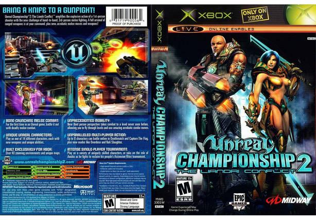 Игра для игровой консоли Xbox, Unreal Championship 2 The Liandri Conflict, фото 2