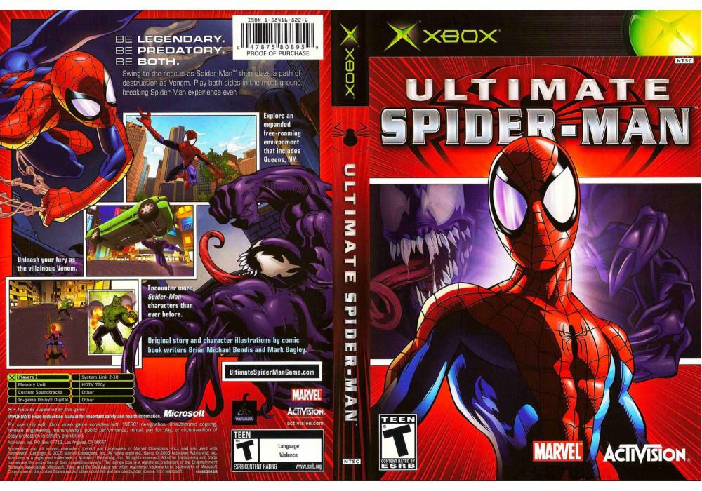 Игра для игровой консоли Xbox, Ultimate Spiderman