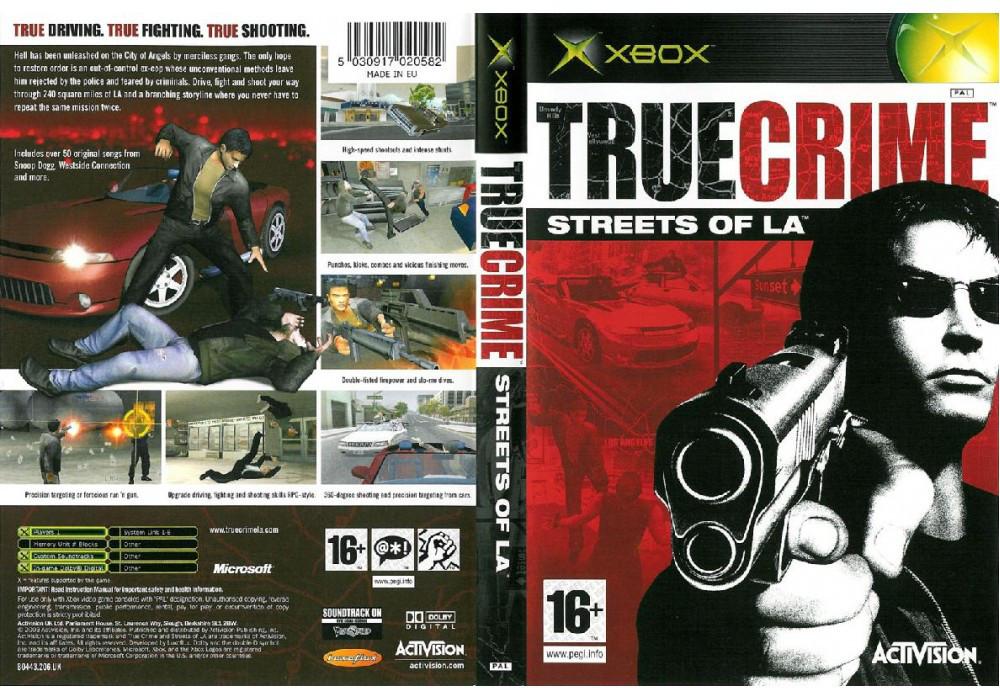 Игра для игровой консоли Xbox, True Crime Streets Of LA