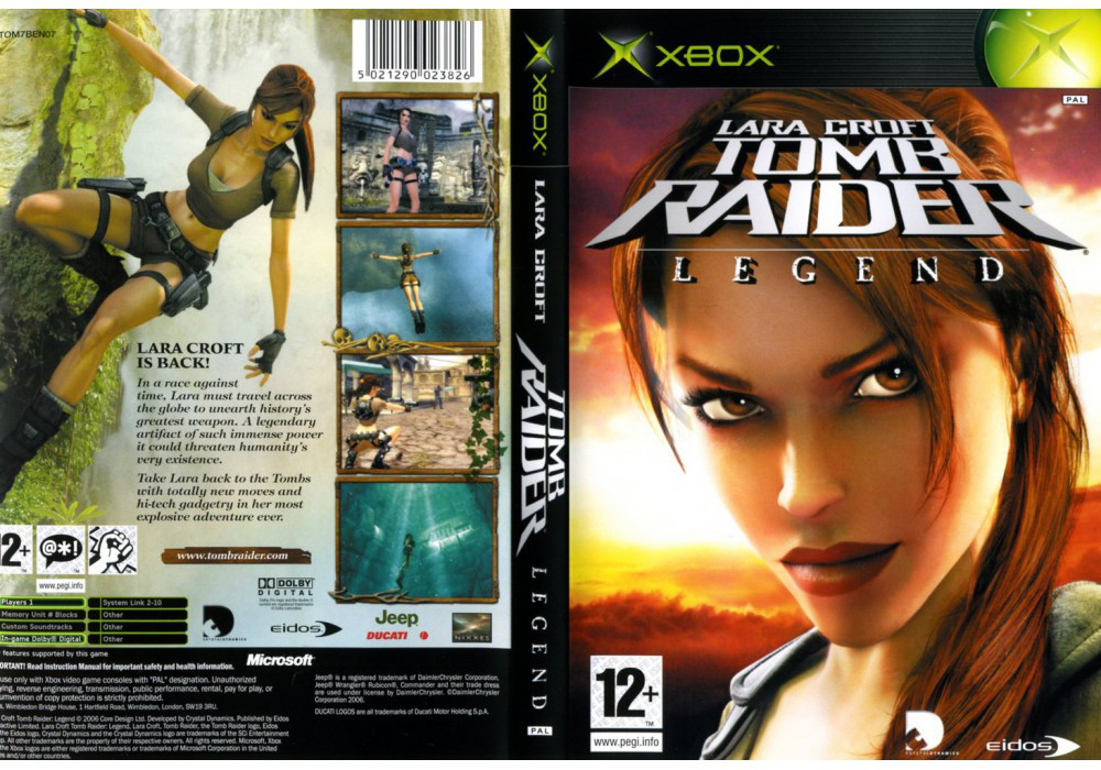 Игра для игровой консоли Xbox, Tomb Raider Legend