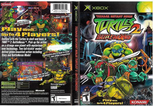 Игра для игровой консоли Xbox, Teenage Mutant Ninga Turtles 2 Battle Nexus, фото 2