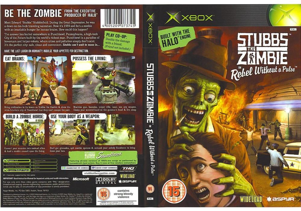 Игра для игровой консоли Xbox, Stubbs The Zombie