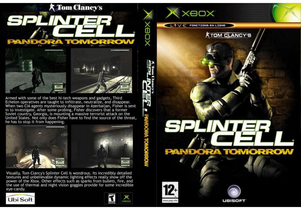 Игра для игровой консоли Xbox, Splinter Cell 2 Pandora Tomorrow