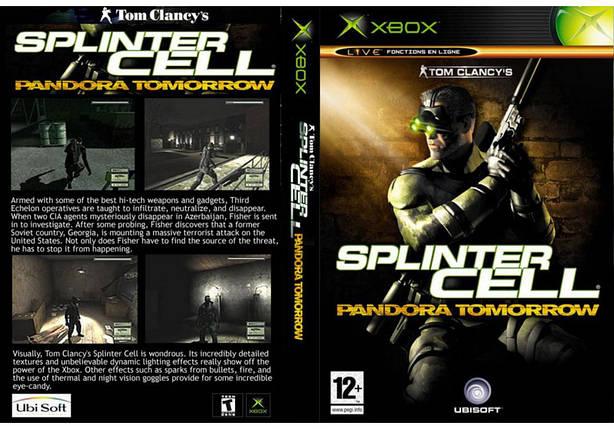 Игра для игровой консоли Xbox, Splinter Cell 2 Pandora Tomorrow, фото 2