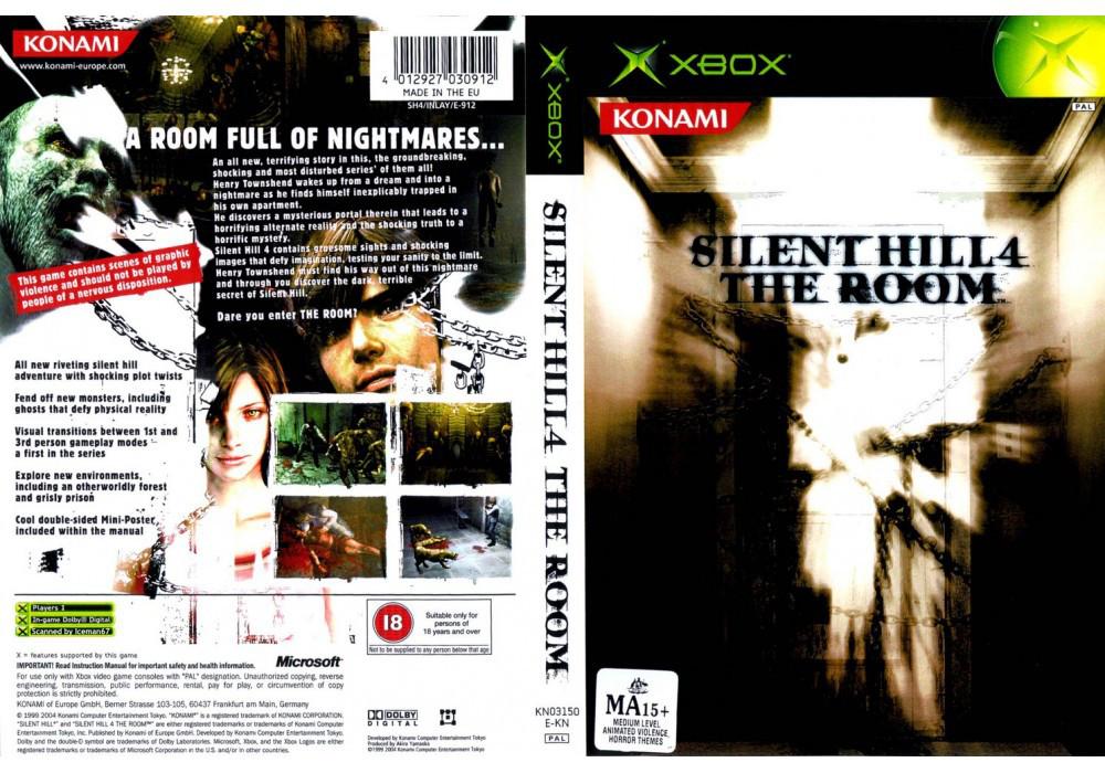 Игра для игровой консоли Xbox, Silent Hill 4 The Room