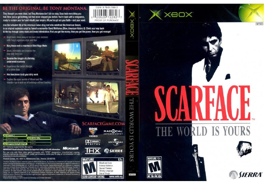 Игра для игровой консоли Xbox, Scarface The World Is Yours