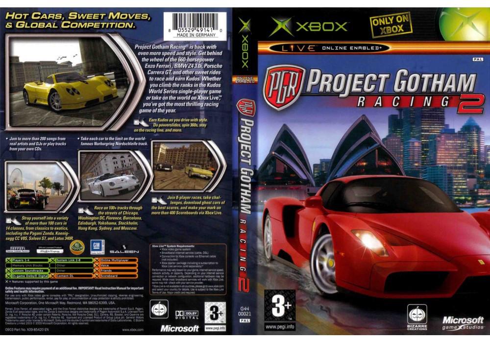 Игра для игровой консоли Xbox, Project Gotham Racing 2