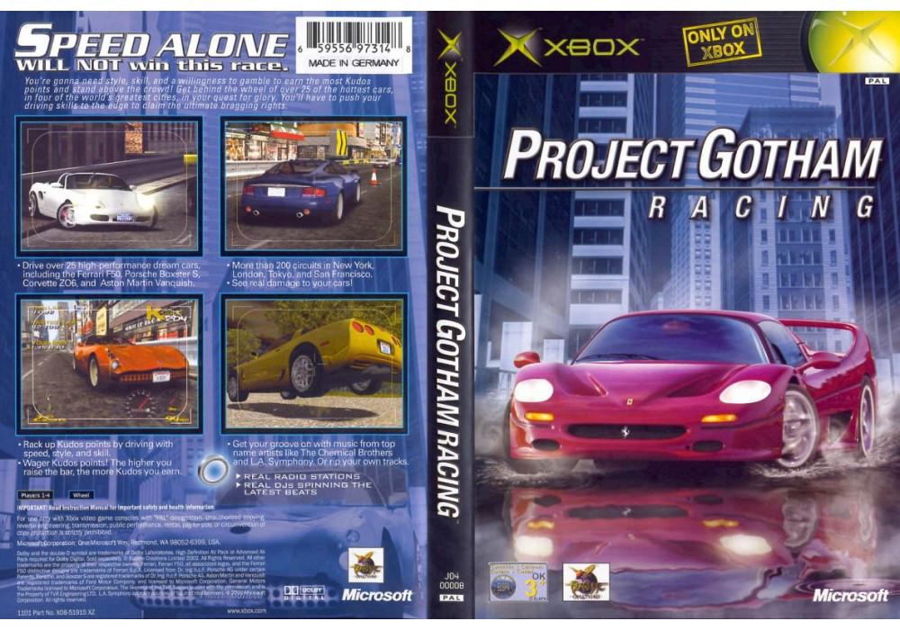 Игра для игровой консоли Xbox, Project Gotham Racing