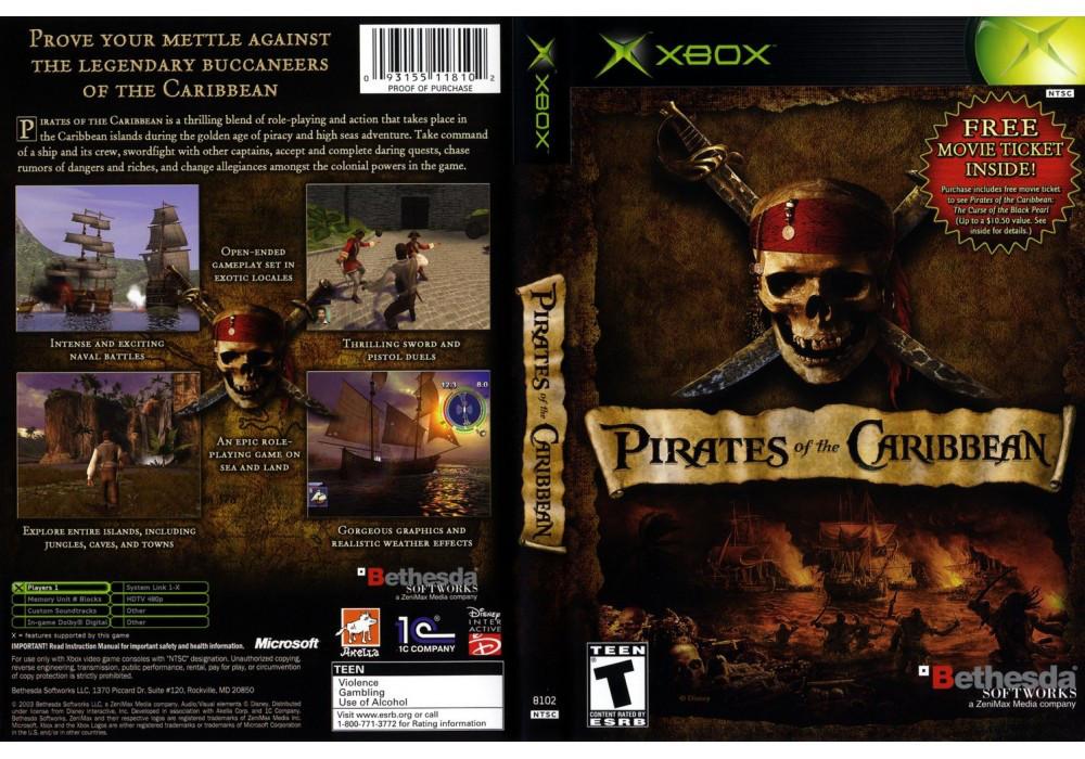 Игра для игровой консоли Xbox, Pirates Of The Caribbean