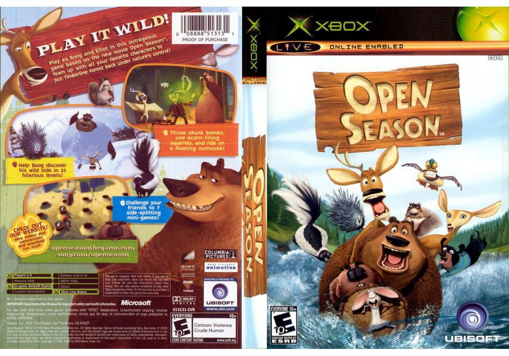 Игра для игровой консоли Xbox, Open Season