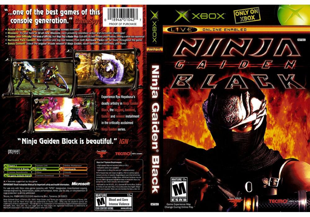 Игра для игровой консоли Xbox, Ninja Gaiden Black