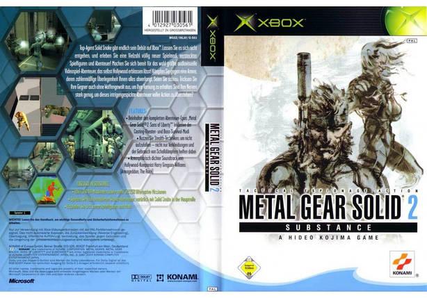 Игра для игровой консоли Xbox, Metal Gear Solid 2 Substance (2 DVD), фото 2