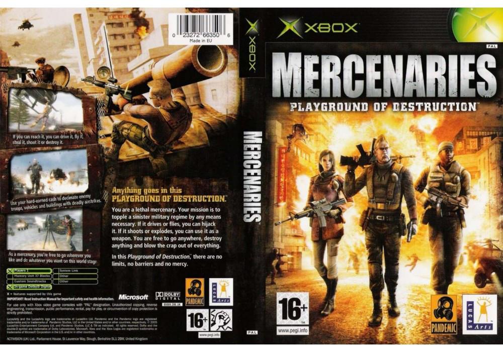 Игра для игровой консоли Xbox, Mercenaries Playground Of Destruction