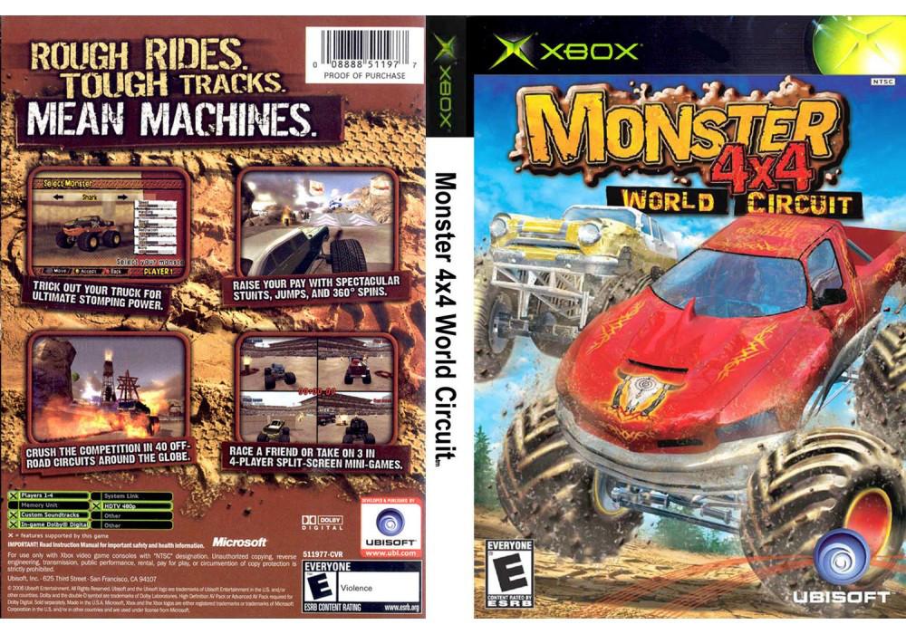 Гра для ігрової консолі Xbox, 4x4 Monster World Circuit